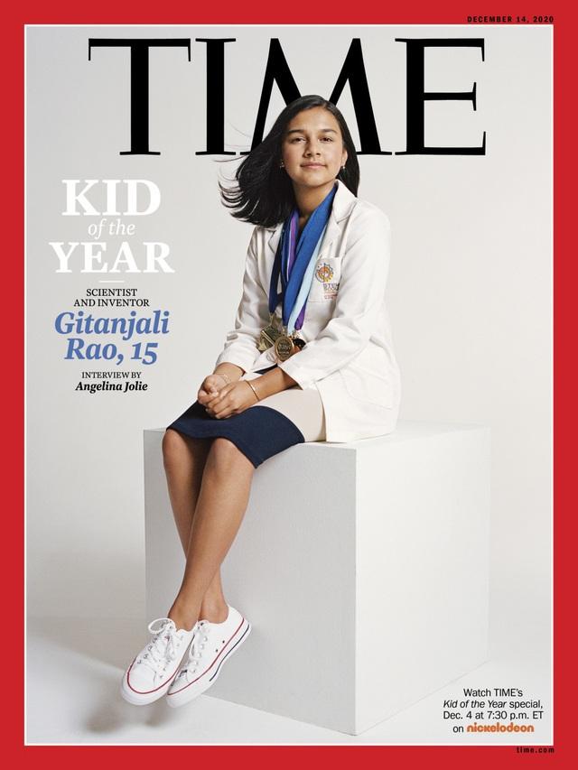 Nhà khoa học nhí 15 tuổi được tạp chí Time vinh danh nhân vật của năm - 1