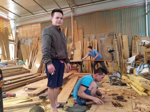 Tháng cuối năm, làng nghề mộc Sơn Đồng rộn tiếng đục, chát - 3
