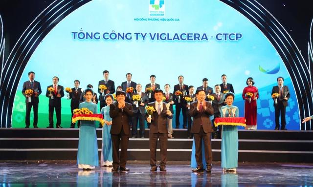 Viglacera tự hào đón nhận danh vị Thương hiệu Quốc gia Việt Nam - 1