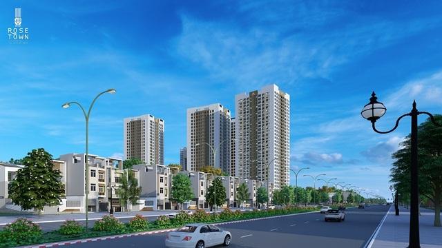 Rose Town chuẩn bị bàn giao những căn hộ đầu tiên vào cuối tháng 11/2020 - 1