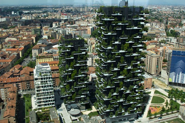 Độc đáo tòa chung cư như rừng giữa phố, mỗi buổi sáng chim hót líu lo - 4