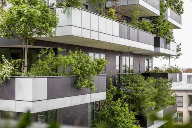 Độc đáo tòa chung cư như rừng giữa phố, mỗi buổi sáng chim hót líu lo - 7