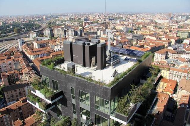 Độc đáo tòa chung cư như rừng giữa phố, mỗi buổi sáng chim hót líu lo - 8
