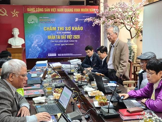 Chấm sơ khảo 282 sản phẩm tham gia Nhân tài Đất Việt 2020 lĩnh vực CNTT - 1