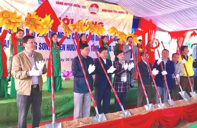 Quảng Trị: Xây dựng nhà ở cho 45 hộ dân vùng bị sạt lở núi - 1
