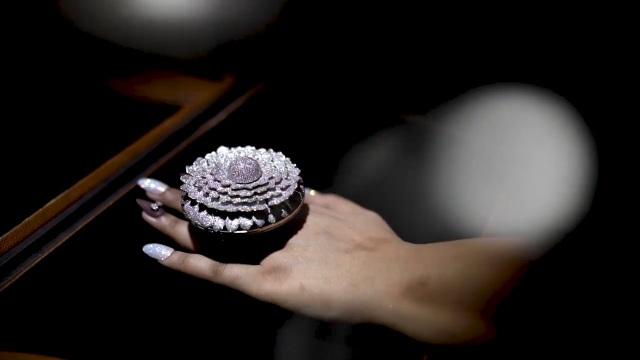 Chiêm ngưỡng chiếc nhẫn xa hoa tột đỉnh đính hơn 12.600 viên kim cương - 1
