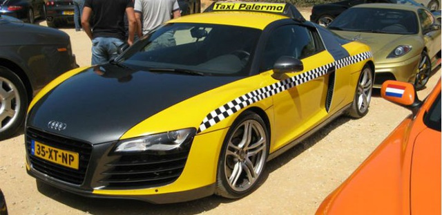 Những chiếc xe taxi sang chảnh nhất thế giới - 14