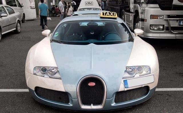 Những chiếc xe taxi sang chảnh nhất thế giới - 2