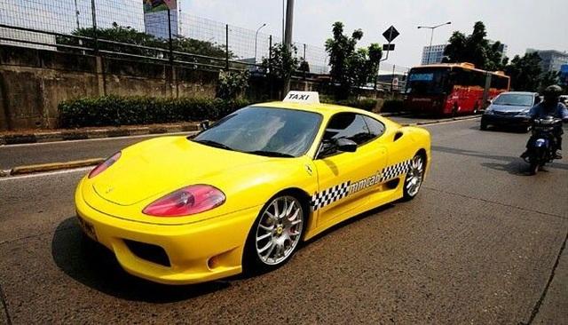 Những chiếc xe taxi sang chảnh nhất thế giới - 3