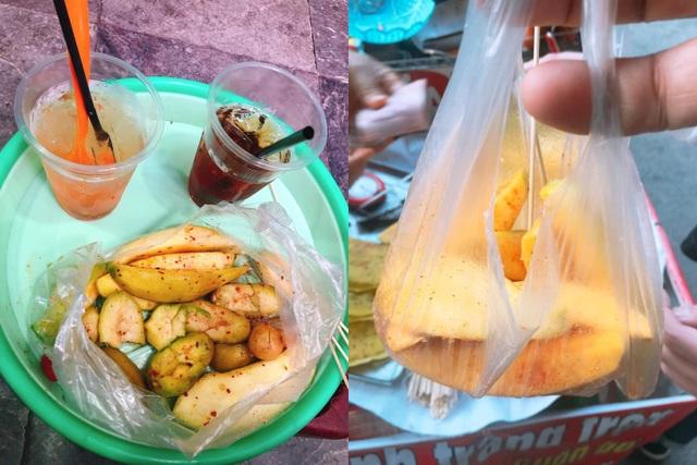 Du khách Sài Gòn bị chặt chém túi hoa quả rong 200 nghìn đồng ở Hà Nội - 2