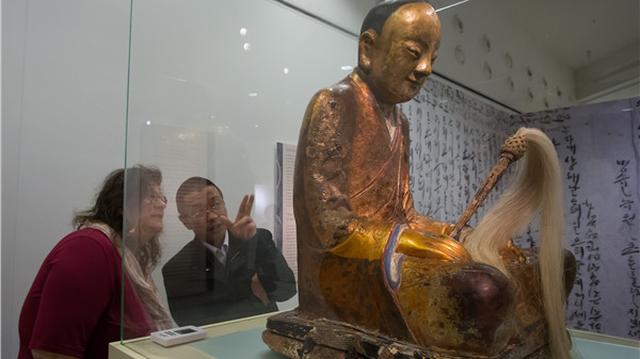 Trung Quốc đòi trả lại bức tượng Phật 1000 năm tuổi chứa xác ướp nhà sư - 3