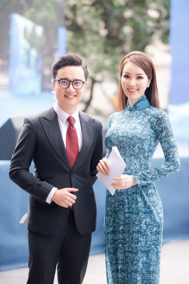 Á hậu Thụy Vân: Nhiều người hỏi tôi về nhan sắc Hoa hậu Đỗ Thị Hà - 1