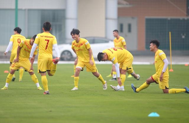 Công Phượng hội quân, Quế Ngọc Hải nhấn mạnh trận đấu với Malaysia - 2