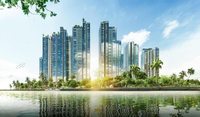 Hình phối cảnh dự án Sunshine City Sài Gòn