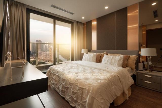 Nội thất sang trọng tại căn hộ dự án Sunshine City Sài Gòn