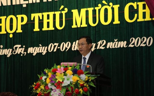 Chánh Văn phòng Tỉnh ủy làm Phó Chủ tịch HĐND tỉnh Quảng Trị - 2