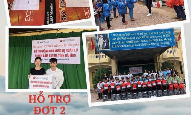 Thanh niên, sinh viên Việt Nam tại Nhật gửi tình thương đến đồng bào miền Trung - 1