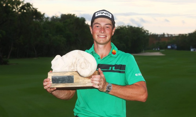 Viktor Hovland kiếm bộn tiền sau chức vô địch Mayakoba Golf Classic - 2