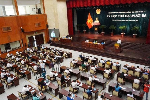Chất vấn Chủ tịch TPHCM trong kỳ họp HĐND cuối năm - 1