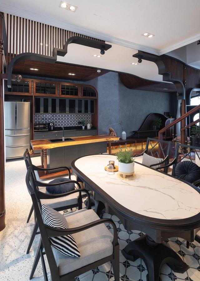 Không gian hoài cổ trong căn hộ xa hoa của nữ gia chủ ở Hải Phòng - 7