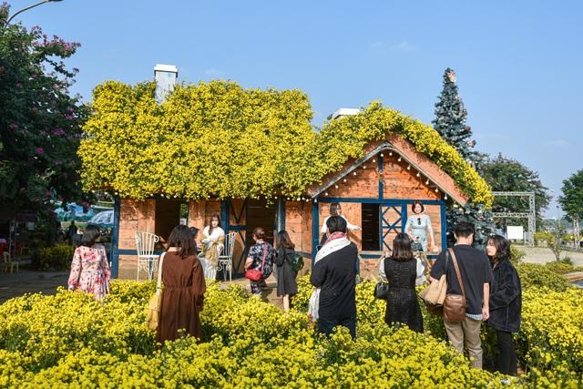 Chiêm ngưỡng ngôi nhà cúc chi đẹp mê mẩn ở Hà Nội - 1