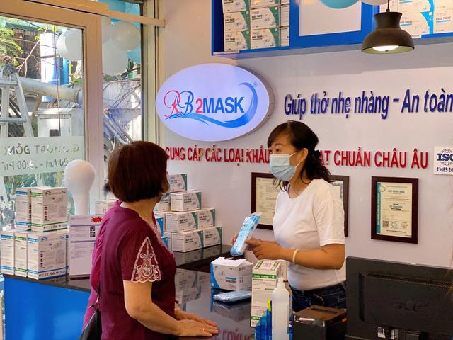 Khai trương điểm trưng bày và bán hàng khẩu trang kháng khuẩn đạt chuẩn Châu Âu - 2