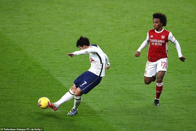 Son Heung Min và Harry Kane được ngợi ca sau trận thắng Arsenal - 2