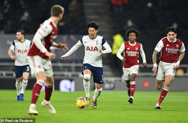 Son Heung Min và Harry Kane được ngợi ca sau trận thắng Arsenal - 1