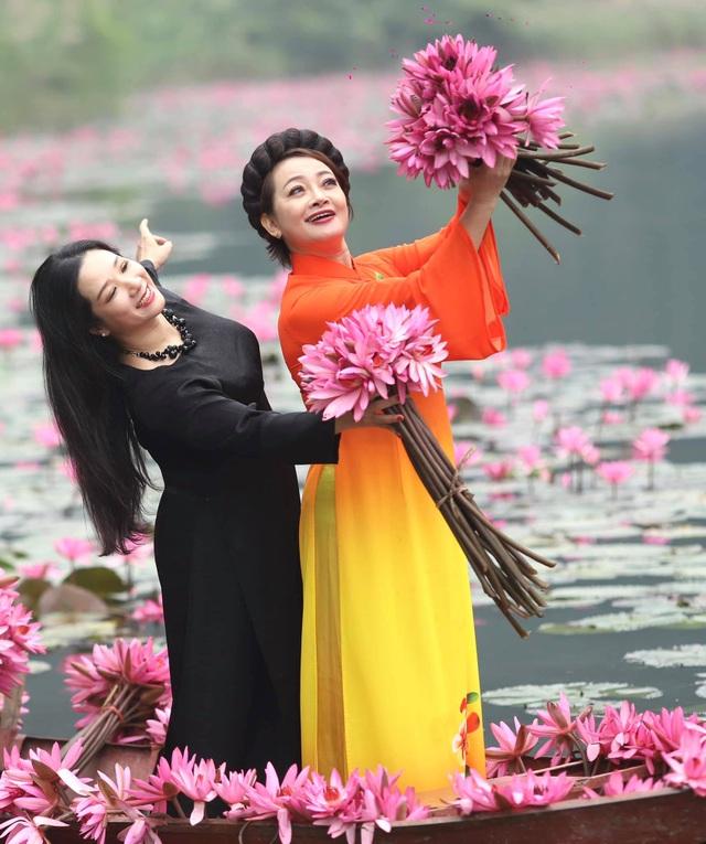 Thanh Thanh Hiền bình thản sau sóng gió, đọ dáng cùng Trà My, Thảo Vân - 6