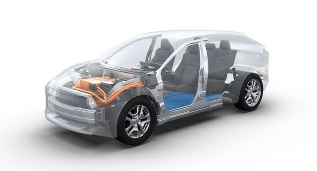 Toyota chuẩn bị ra mắt một mẫu SUV chạy điện hoàn toàn mới - 2
