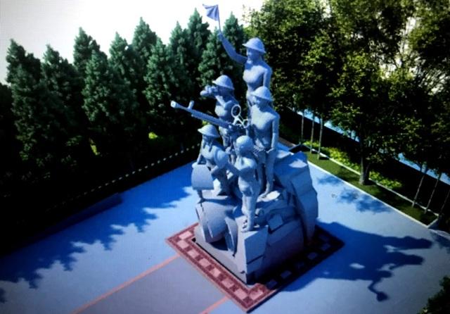 Dự kiến đầu tư gần 75 tỷ đồng xây dựng tượng đài và di tích - 1