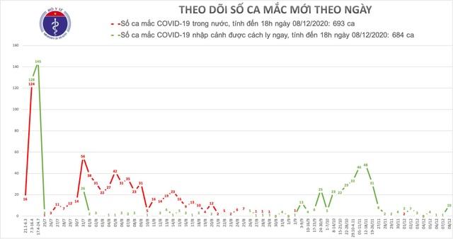 Việt Nam thêm 10 ca mắc Covid-19, gồm 8 người từ Nga về - 1