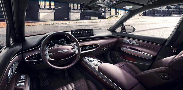 Mercedes GLC có thêm đối thủ Genesis GV70 đến từ Hàn Quốc - 2