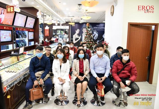 Bảo Tín Minh Châu trao thưởng mùa cưới đợt 1 tổng trị giá 85 triệu đồng - 1
