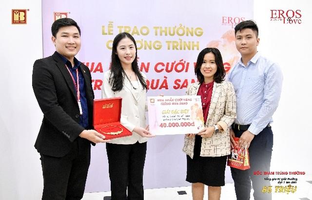 Bảo Tín Minh Châu trao thưởng mùa cưới đợt 1 tổng trị giá 85 triệu đồng - 2