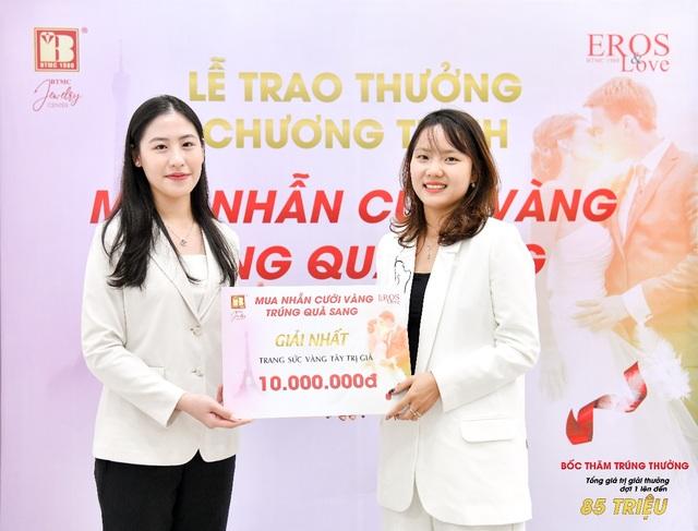 Bảo Tín Minh Châu trao thưởng mùa cưới đợt 1 tổng trị giá 85 triệu đồng - 3