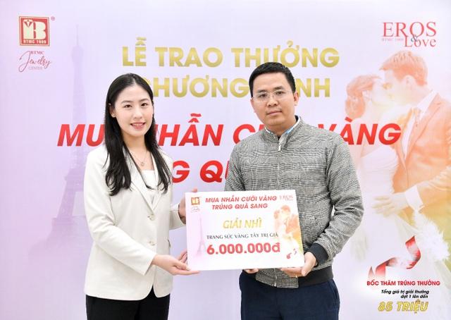 Bảo Tín Minh Châu trao thưởng mùa cưới đợt 1 tổng trị giá 85 triệu đồng - 4