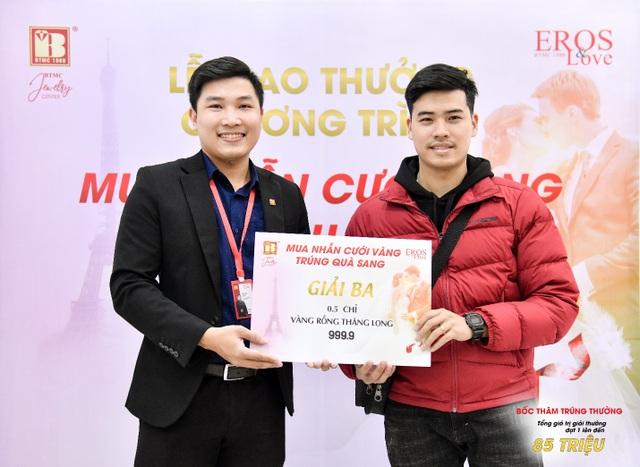 Bảo Tín Minh Châu trao thưởng mùa cưới đợt 1 tổng trị giá 85 triệu đồng - 5