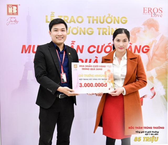 Bảo Tín Minh Châu trao thưởng mùa cưới đợt 1 tổng trị giá 85 triệu đồng - 6