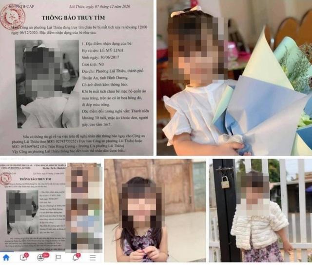 Người mẹ bức xúc khi hình ảnh con gái bị lấy để tung tin giả bị bắt cóc - 1