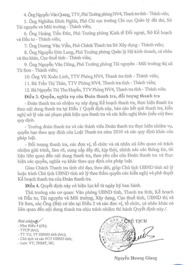 Thanh tra toàn diện dự án bị khách hàng ròng rã tố cáo lừa đảo tại Bắc Ninh - 2
