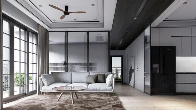 Mẫu thiết kế nội thất đẹp hiện đại cho căn hộ chung cư - 1