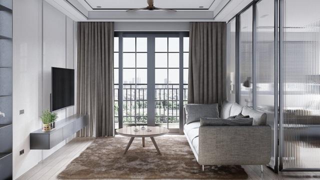 Mẫu thiết kế nội thất đẹp hiện đại cho căn hộ chung cư - 2