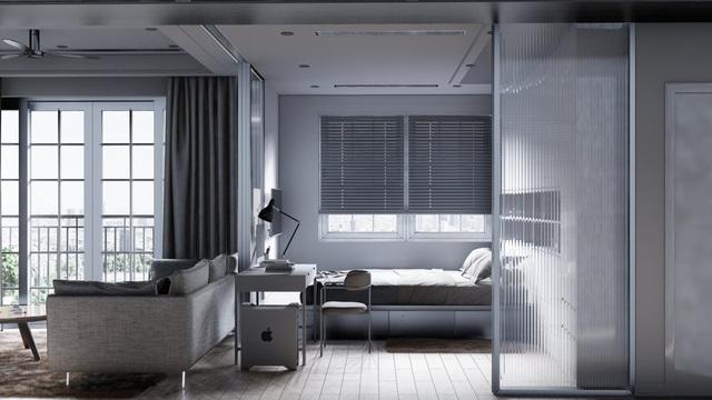 Mẫu thiết kế nội thất đẹp hiện đại cho căn hộ chung cư - 3