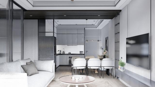 Mẫu thiết kế nội thất đẹp hiện đại cho căn hộ chung cư - 4