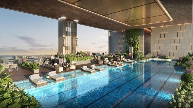 Ra mắt tòa tháp sở hữu không gian sống như resort tại Astral City - 3