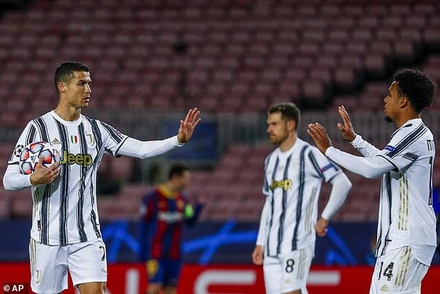 Barcelona 0-3 Juventus: Cú đúp của C.Ronaldo - 4
