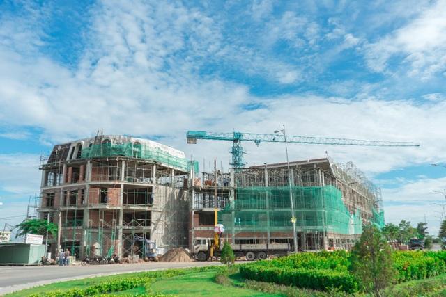 Sắp cất nóc nhà phố Ha Tien Centroria, khu đô thị mới có thêm chuỗi thương mại sầm uất - 1