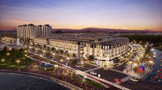 Sắp cất nóc nhà phố Ha Tien Centroria, khu đô thị mới có thêm chuỗi thương mại sầm uất - 2