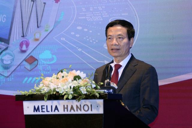 Bộ trưởng Nguyễn Mạnh Hùng: Cuộc CMCN 4.0 mở ra cơ hội về sự làm ngược - 1